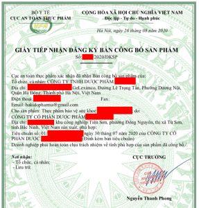 BAN XAC NHAN CONG BO TPCN