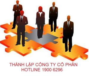 Thành lập công ty cổ phần 19006296