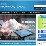 Hướng dẫn thay đổi đăng ký kinh doanh qua mạng